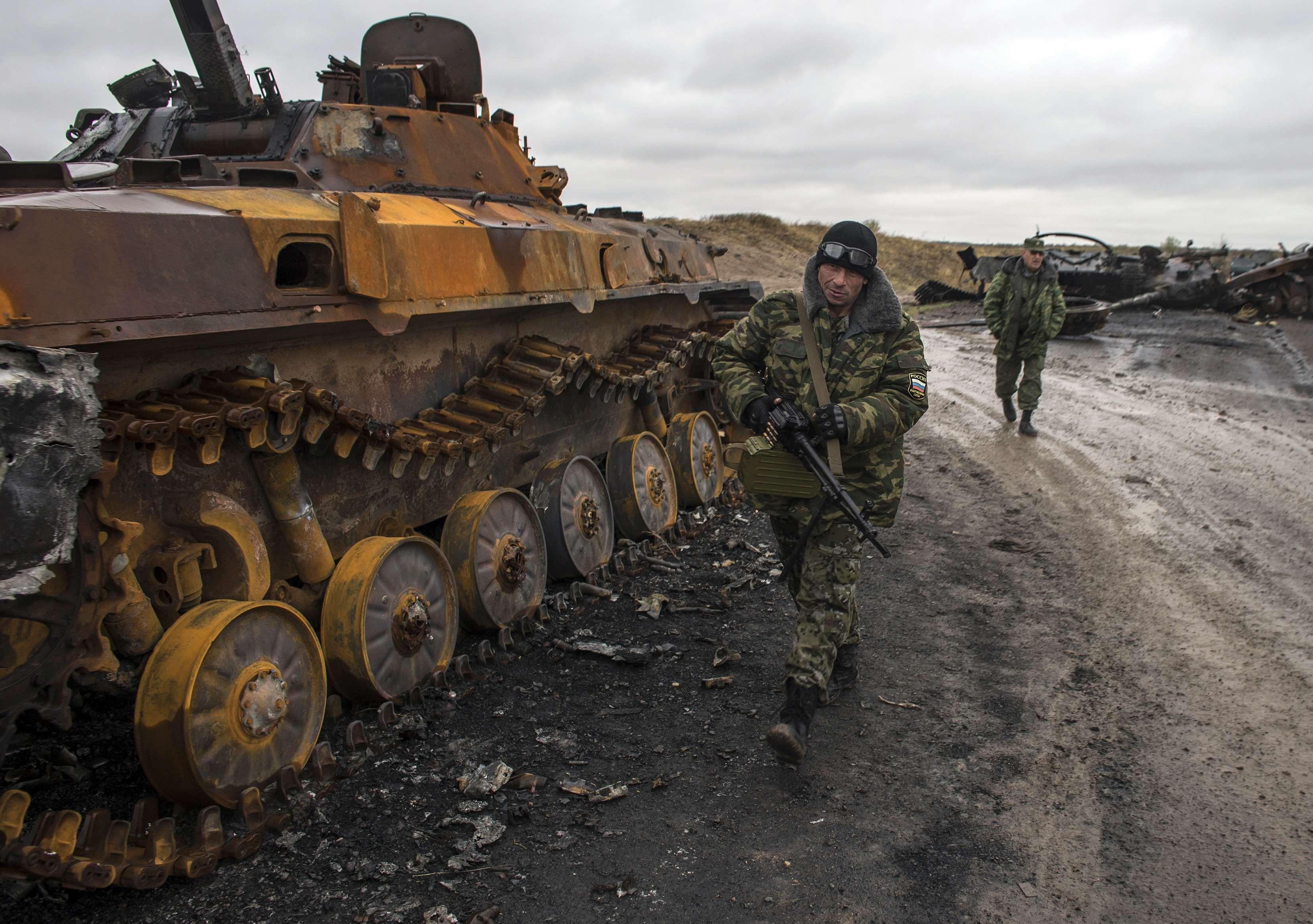 Украинские бойцы раскрыли подробности отступления из-под Дебальцево