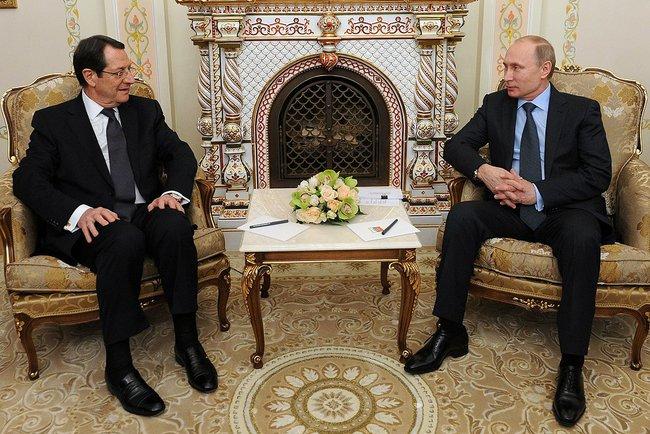 Путин: Сотрудничество России и Кипра в военной сфере не несет угрозы