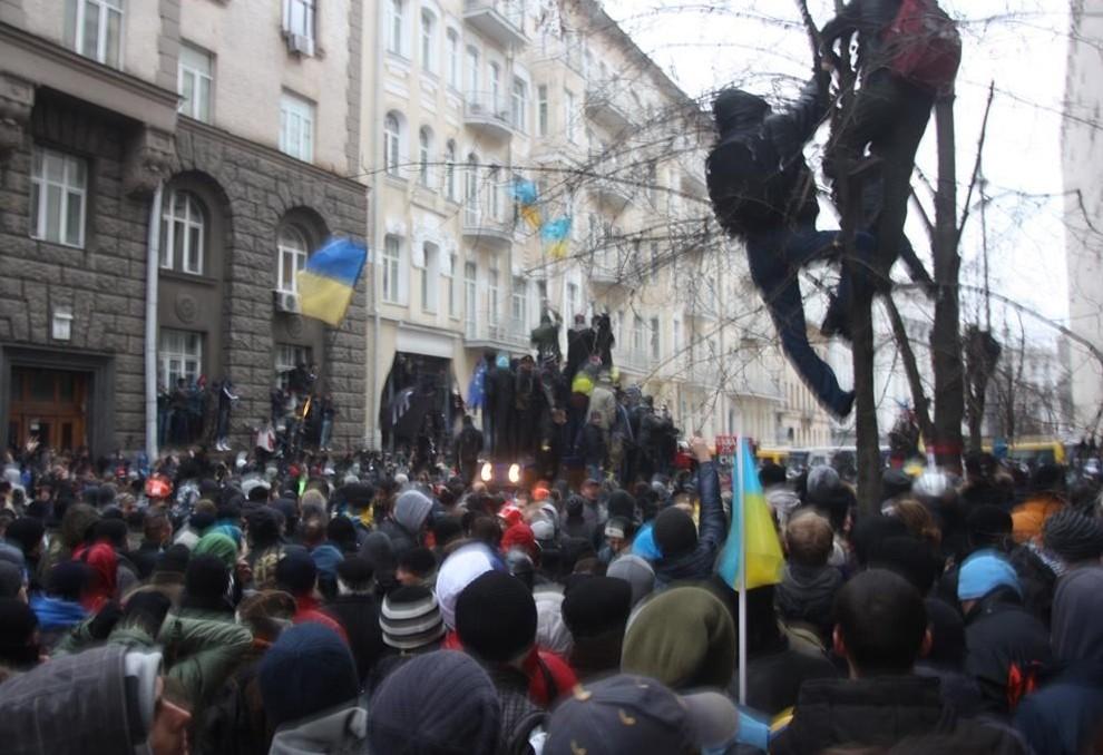 СБУ задержала организаторов штурма администрации Порошенко