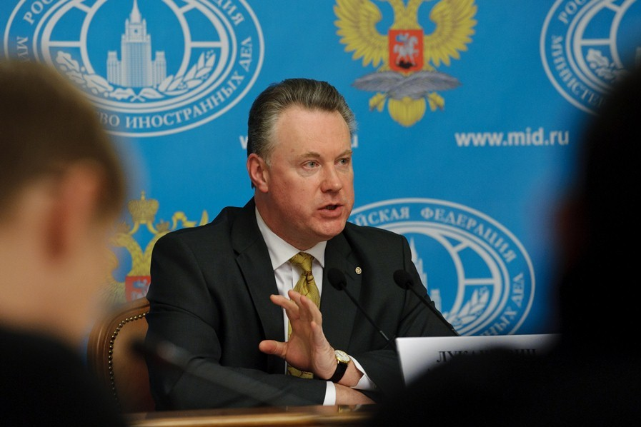 В МИД РФ: ООН может ввести на Украину миротворческие войска