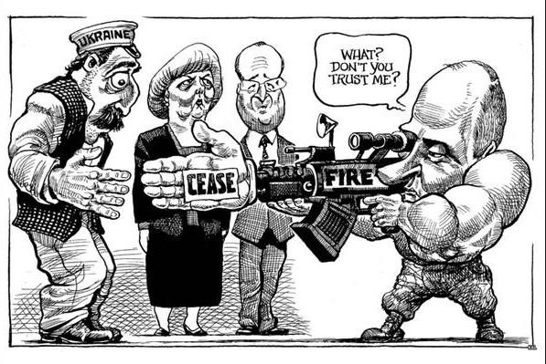 Карикатурист The Economist перепутал Лукашенко с Порошенко