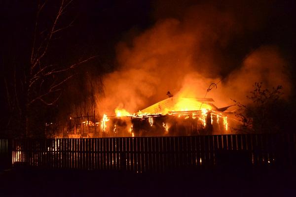 Четверо детей погибли в пожаре под Воронежем