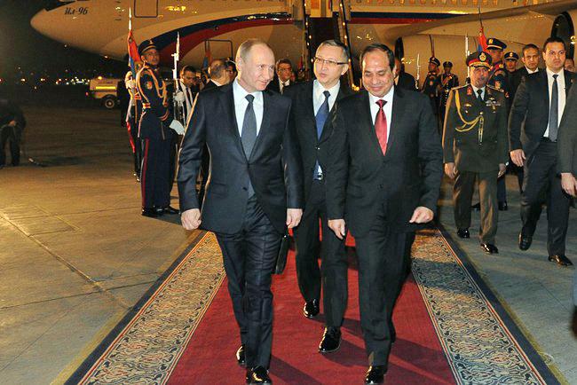 Россия и Египет создают зону свободной торговли