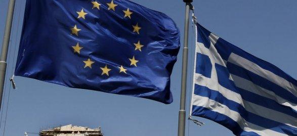 В Греции снимают флаги Евросоюза