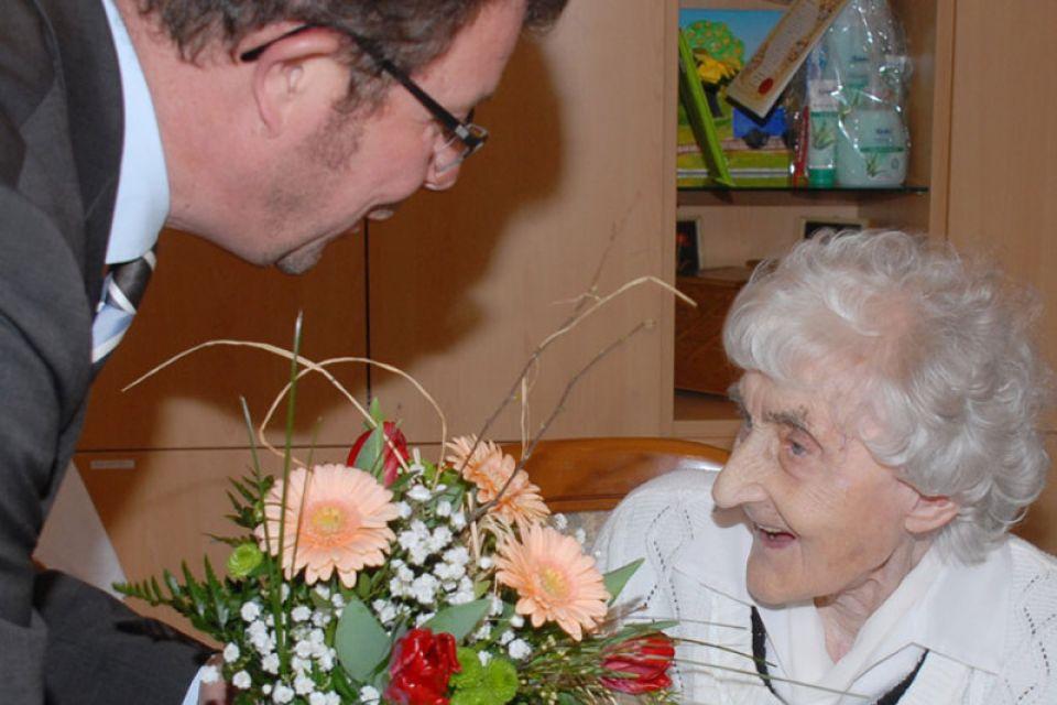 Скончалась самая пожилая жительница Германии