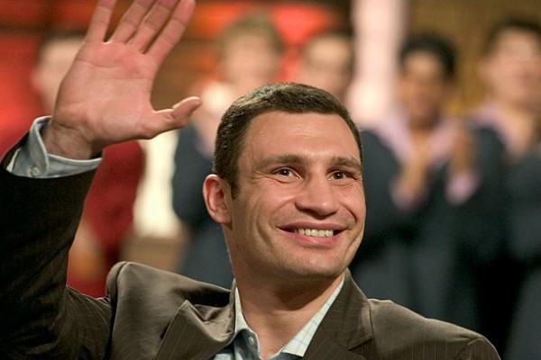 Кличко рассмешил Порошенко и Яценюка своим выступлением