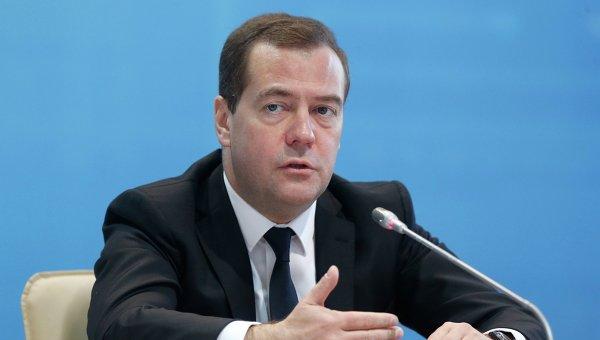Медведев: В случае отказа Украины платить за газ ее ждет