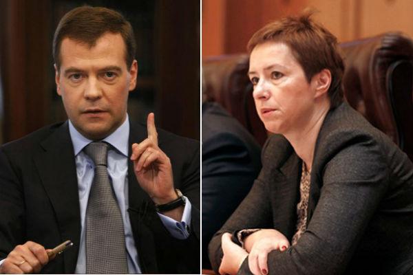 Медведев отчитал главу Росимущества за плохую работу