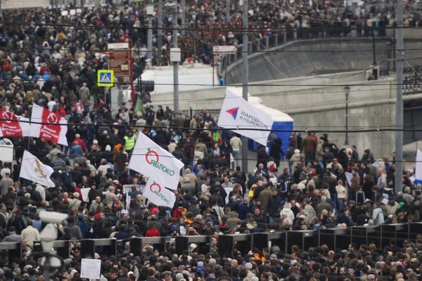 Оппозиция стремится создать Майдан у стен Кремля
