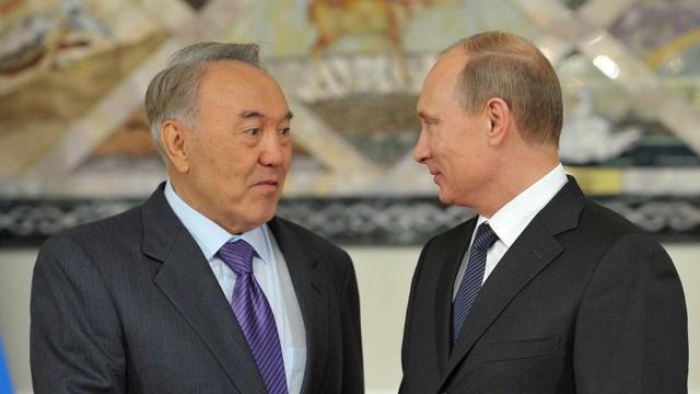 Путин и Назарбаев пытаются урегулировать украинский кризис