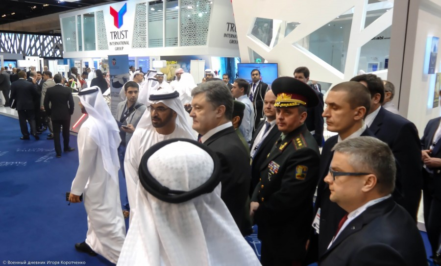 ОАЭ тоже подтвердили ложь Порошенко о продаже оружия