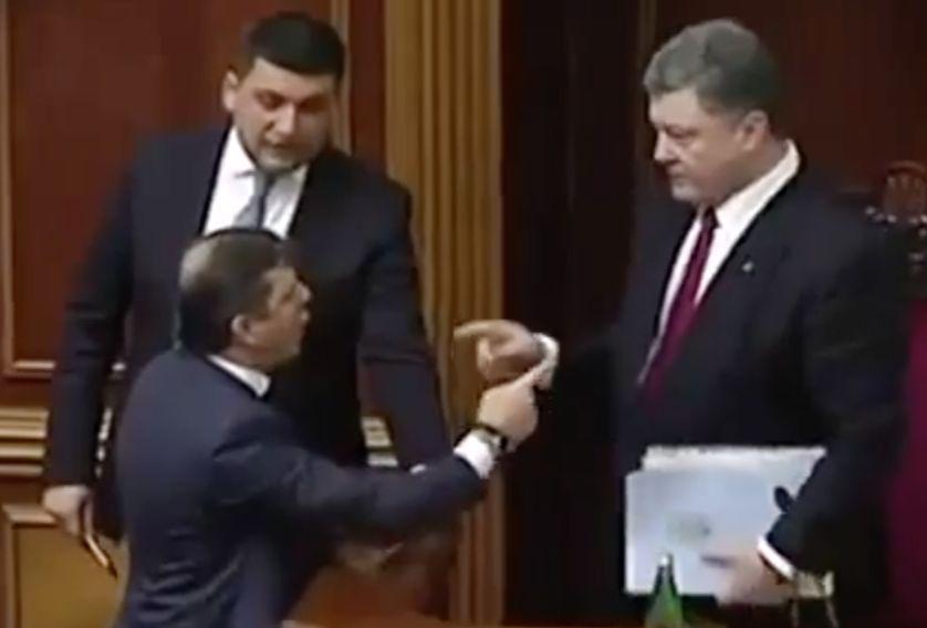 Ляшко обвинил Порошенко в предательстве Украины