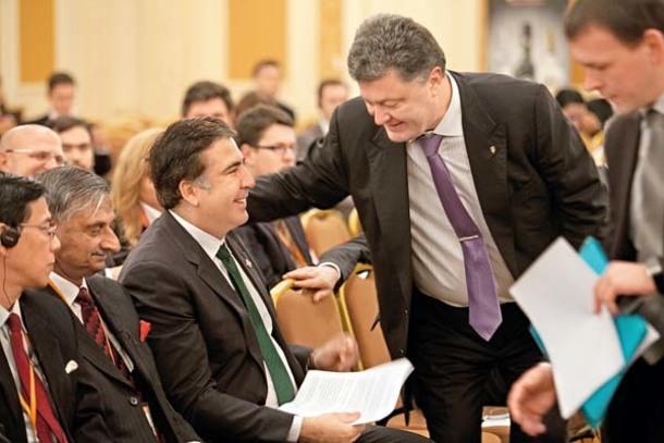 Саакашвили пристроился на работу к Порошенко
