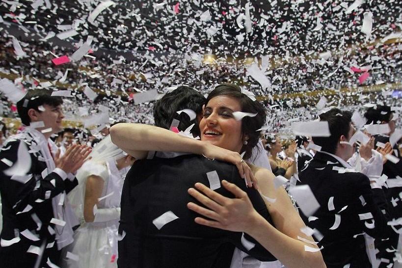 В День всех влюбленных в Москве поженятся более тысячи пар