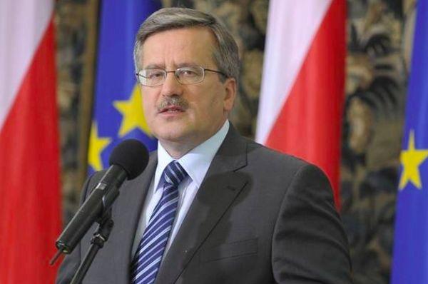 На годовщину Майдана в Киев приедет президент Польши