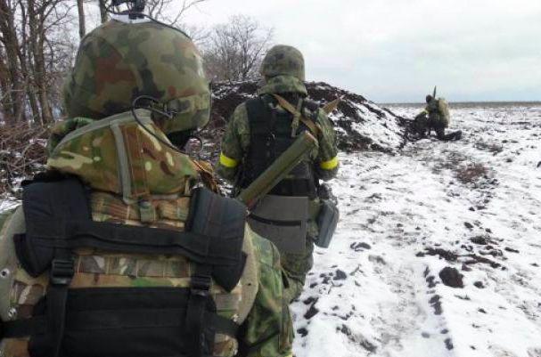 Украина отправила в Дебальцево подмогу