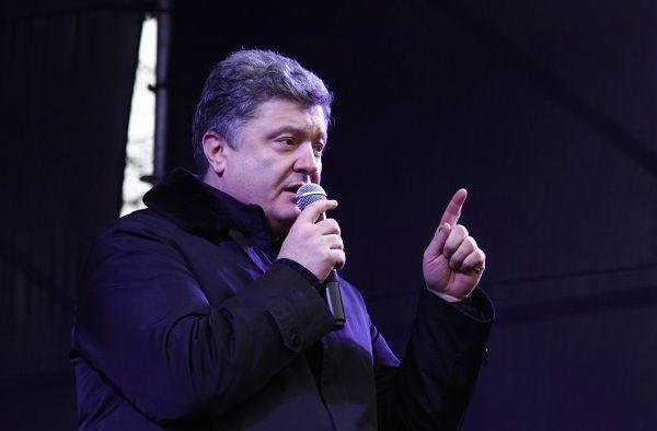 На Майдане освистали Порошенко