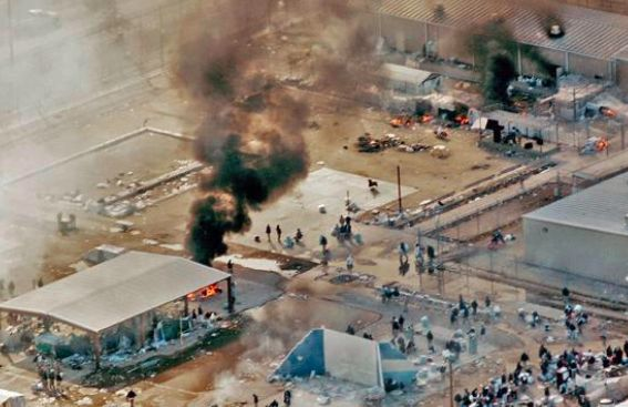 В Техасе 2 тысячи заключенных подняли бунт