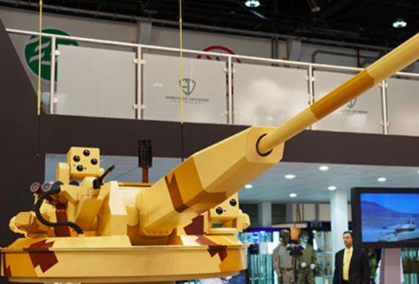 Русская пушка стала сенсацией на военной выставке в ОАЭ