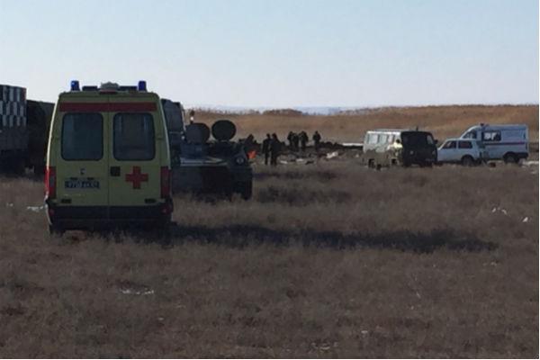 Пилоты разбившегося под Волгоградом Су-24 могли выжить