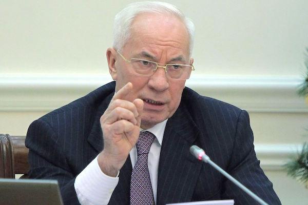 Азаров: Украина не скоро вернется на нормальный путь развития