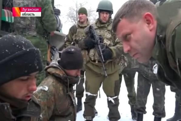 Захарченко: Порошенко предал солдат в