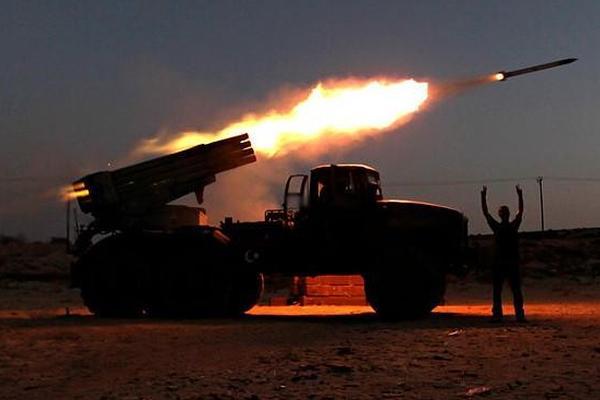 Между ополчением и украинской армией состоялась мощная арт-дуэль