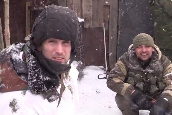 Страшный бой в Дебальцево: тела украинских бойцов заметает снег