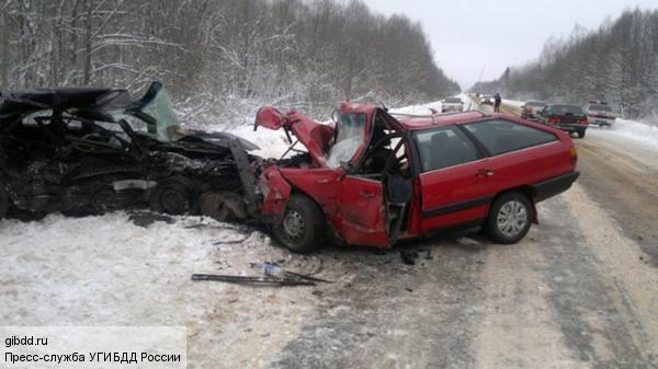 На трассе под Калугой столкнулись 19 автомобилей