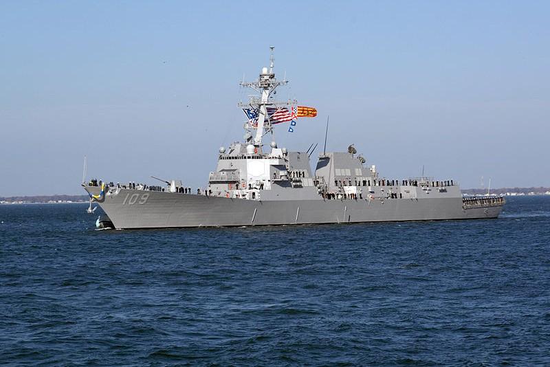 США направили очередной эсминец к берегам Крыма