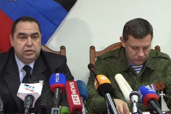На переговоры в Минск прибыли Захарченко и Плотницкий
