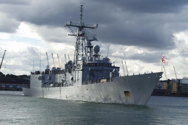 Два военных корабля Польши столкнулись в Балтийском море