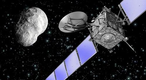 В Сеть выложили видео уничтожения европейского космического корабля