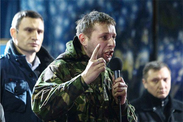 Легендарного «сотника Парасюка» не пустили на Майдан, и он обвинил Порошенко