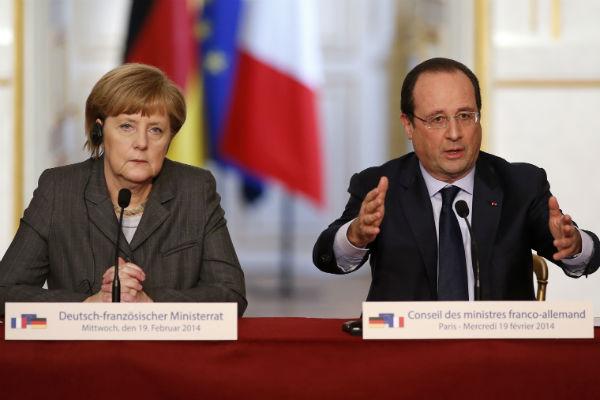 Меркель и Олланд предложат новую линию разграничения в Донбассе