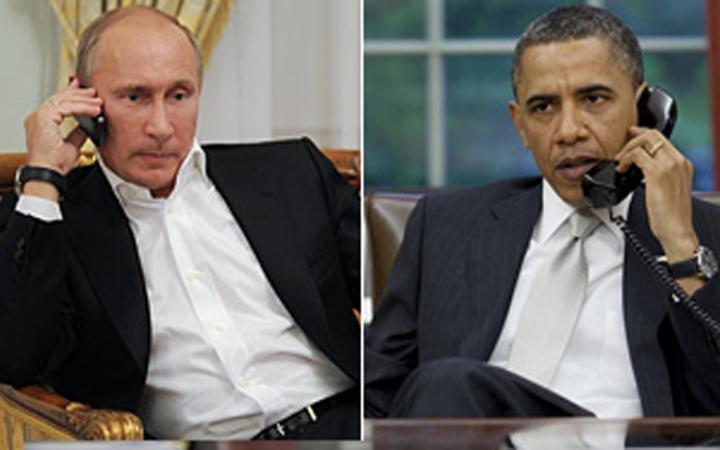 Обама позвонил Путину