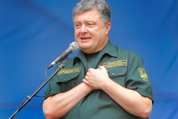 Порошенко предлагает разрешить присутствие иностранных войск на Украине