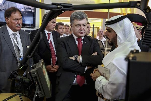 Порошенко заявил, что договорился о поставках оружия на Украину компаниями США