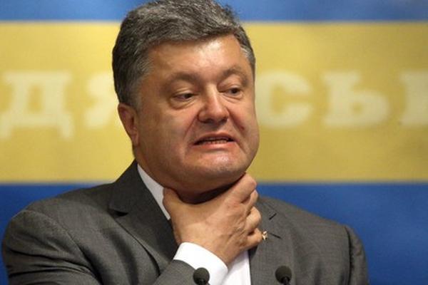 Страны запада отказали порошенко в