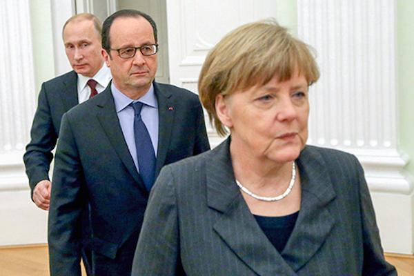 «Украинская правда»: Это не победа, виноваты Олланд и Меркель