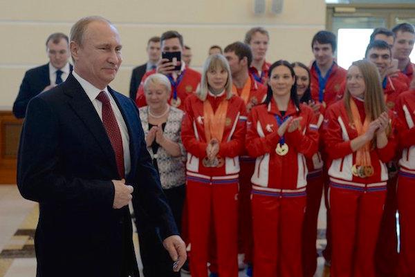 Владимир Путин встретился с победителями зимней универсиады