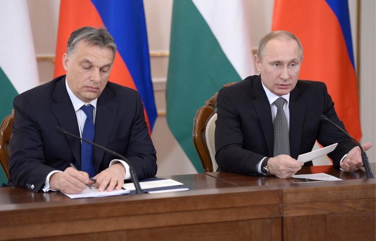 Россия и Венгрия будут сотрудничать, несмотря на санкции