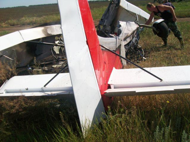 Самолет, который разбился под Ростовом, не был зарегистрирован