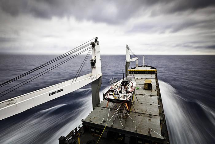 Торговое судно под российским флагом задержано у берегов Индии