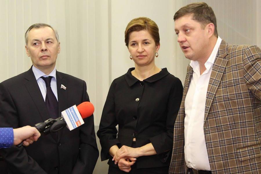 Кандидат в башканы Гагаузии встретилась с депутатами «Справедливой России»