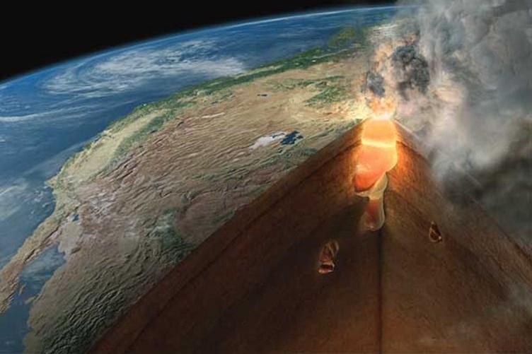 Извержение вулкана уничтожит США за две недели