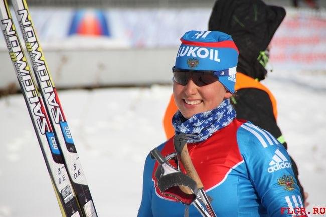 Лыжница Евгения Ощепкова госпитализирована после падения на ЧМ в Казахстане