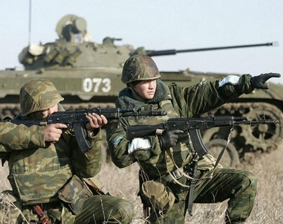 Российские войска готовятся к масштабным учениям
