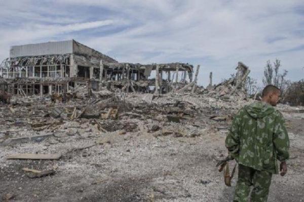 Неидентифицированные останки были найдены около аэропорта Донецка