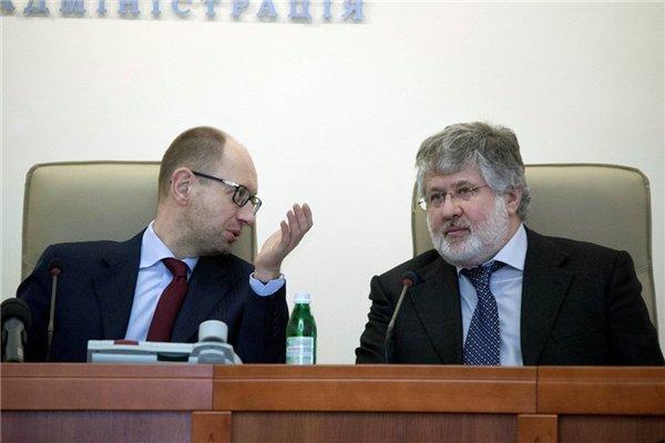 Коломойскому удалось договориться с Яценюком и Порошенко